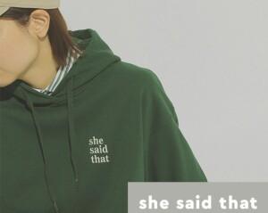 ⭐︎予告⭐︎ 9/4 発売 【she said that × niko and...】