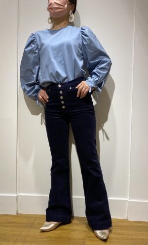 身長159㎝だって綺麗なフレア♪